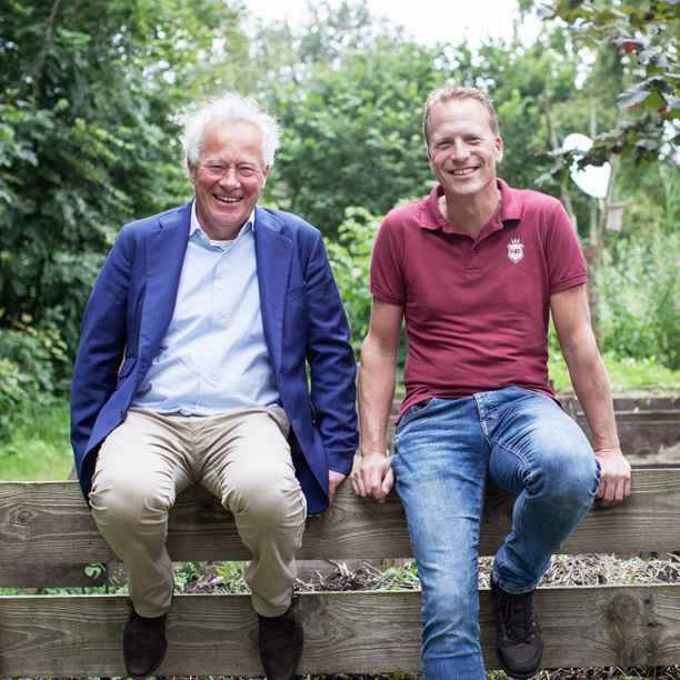 Kees van Biert & Geert van der Veer: willen met Aardpeer een nieuwe beweging creëren