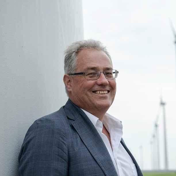 Hugo Groenemans: werkt aan de eerste waterstofmolen van Nederland