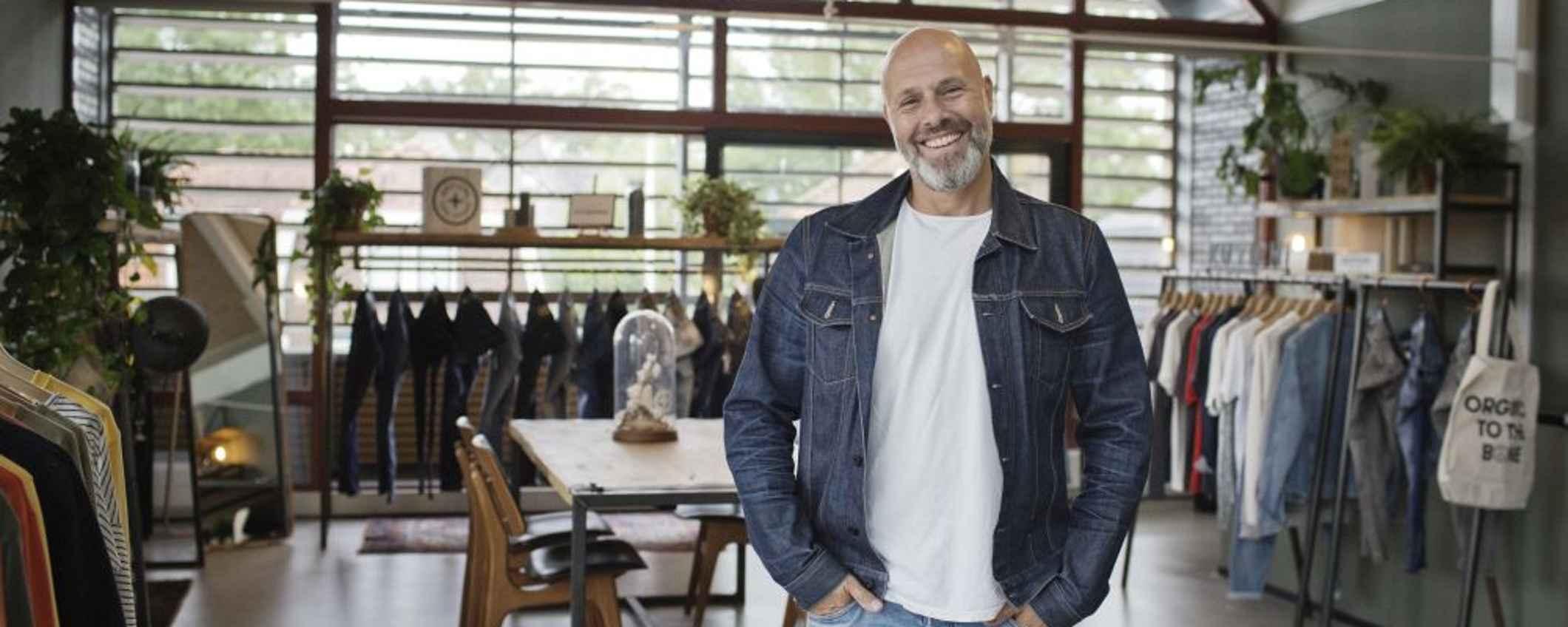 Peter Schuitema, directeur van spijkerbroekenmerk Kuyichi