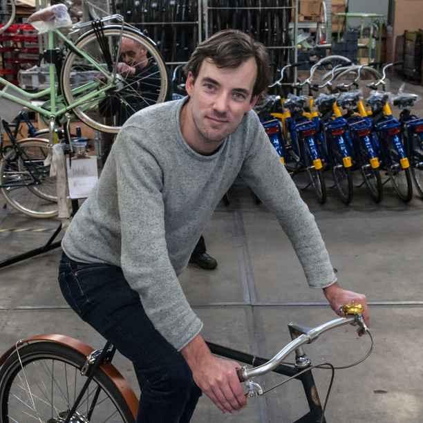 Deze fietsenmaker is hard op weg naar een circulaire fiets