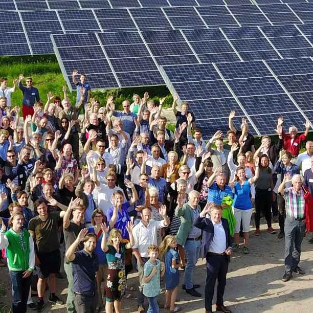 De hele wijk energieneutraal