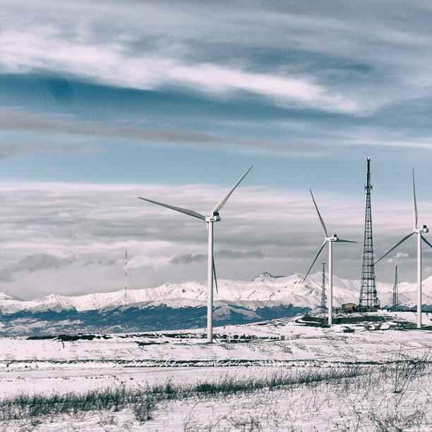 Eerste windpark van Georgië dient als startschot voor meer