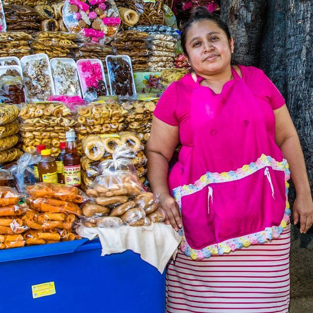 Dankzij een kleine lening bouwde Carla haar marktkraam uit tot winkel