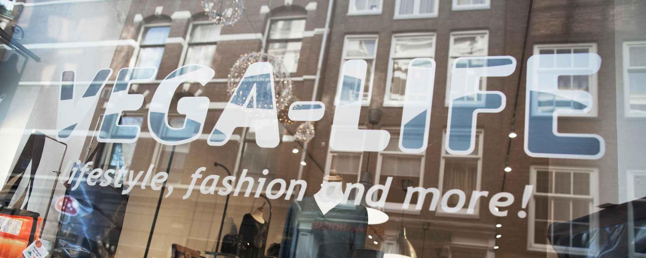 Veganistische lifestylewinkel Vega-Life in Amsterdam Triodos Bank
