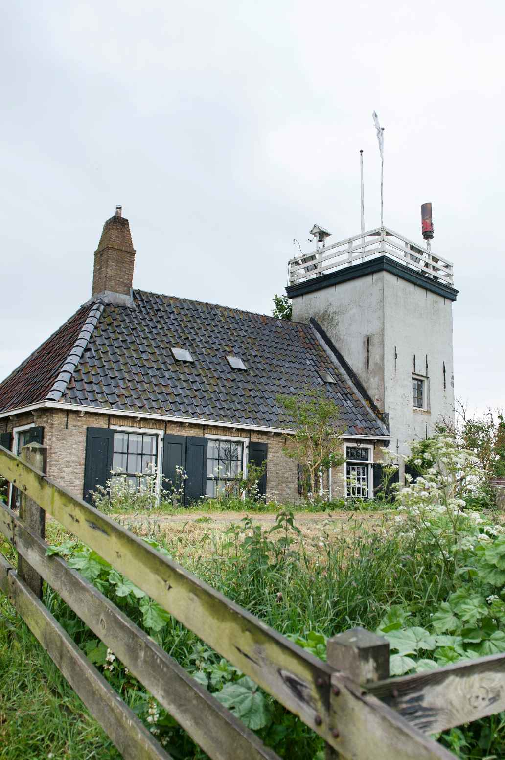 Vuurtoren in het Friese Workum